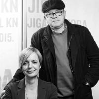 Ivica Ivanišević and Marina Vujčić (ZBF 2016.)